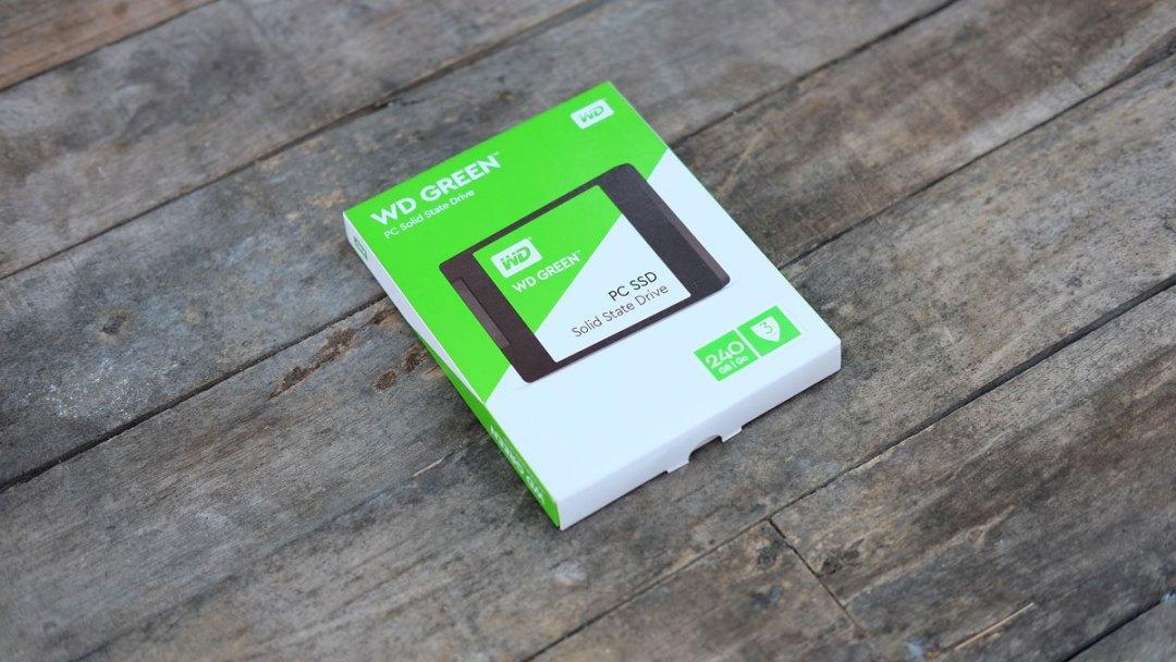 ssd wd green 240gb nâng cấp laptop 1