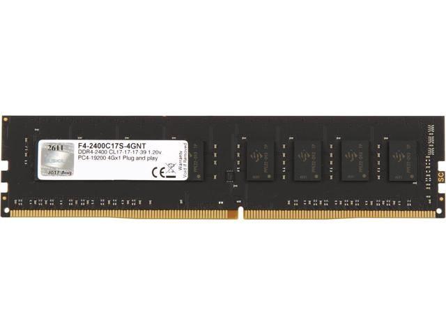 RAM GSKill 4Gb DDR4-2400-F4-2400C17S-4GNT