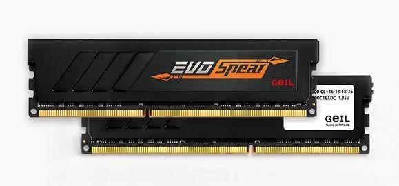Bộ nhớ DDR4 Geil Evo Spear 16GB (2x8GB) 2400 (GSB416GB2400C17DC)