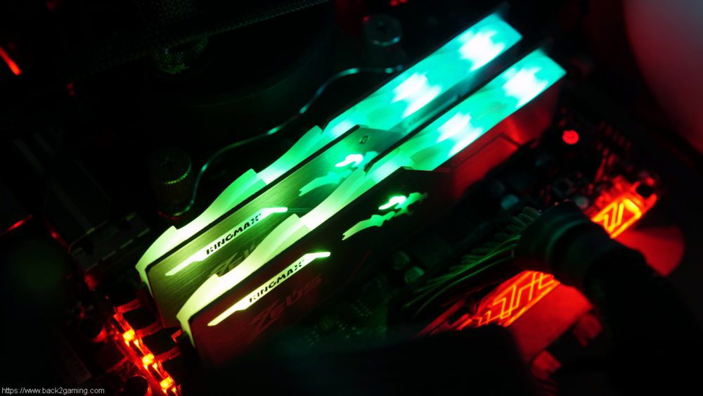 Bộ nhớ DDR4 Kingmax 8GB (3200) ZEUS Dragon RGB 2a