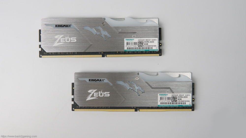 Bộ nhớ DDR4 Kingmax 8GB (3200) ZEUS Dragon RGB 3a