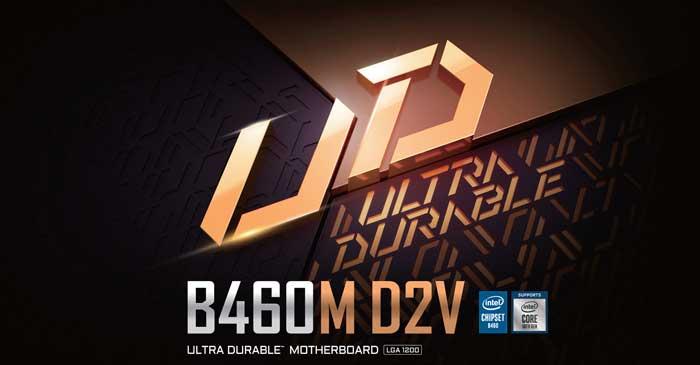 Mainboard Gigabyte B460M D2V