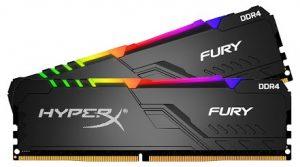 RAM DDR4 Kingston HyperX Fury RGB 16GB