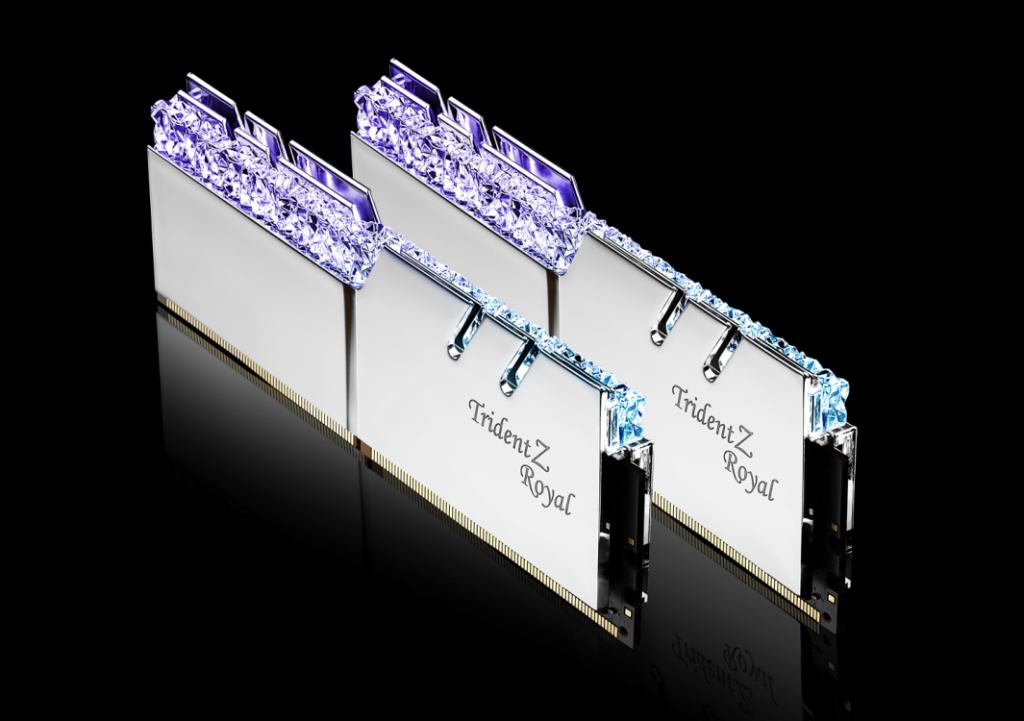 RAM G.SKILL TridentZ Royal RGB 2x8GB DDR4 3000MHz - F4-3000C16D-16GTRS