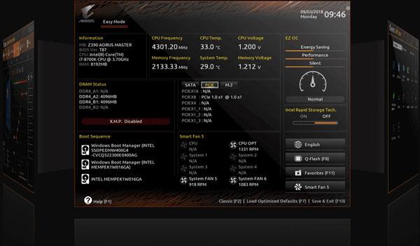 Gigabyte Z390 Aorus Pro Wifi