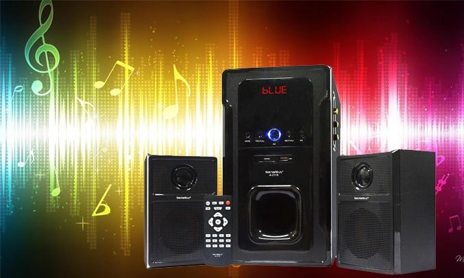 Loa vi tính Soundmax A2123 có thể đáp ứng tần số đến 20Hz cho âm bass mạnh mẽ, trung thực