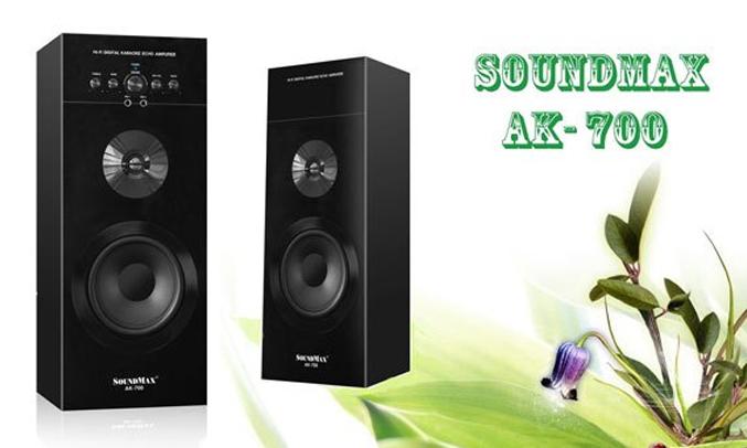 Loa vi tính Soundmax AK700-2.0 màu đen sang trọng