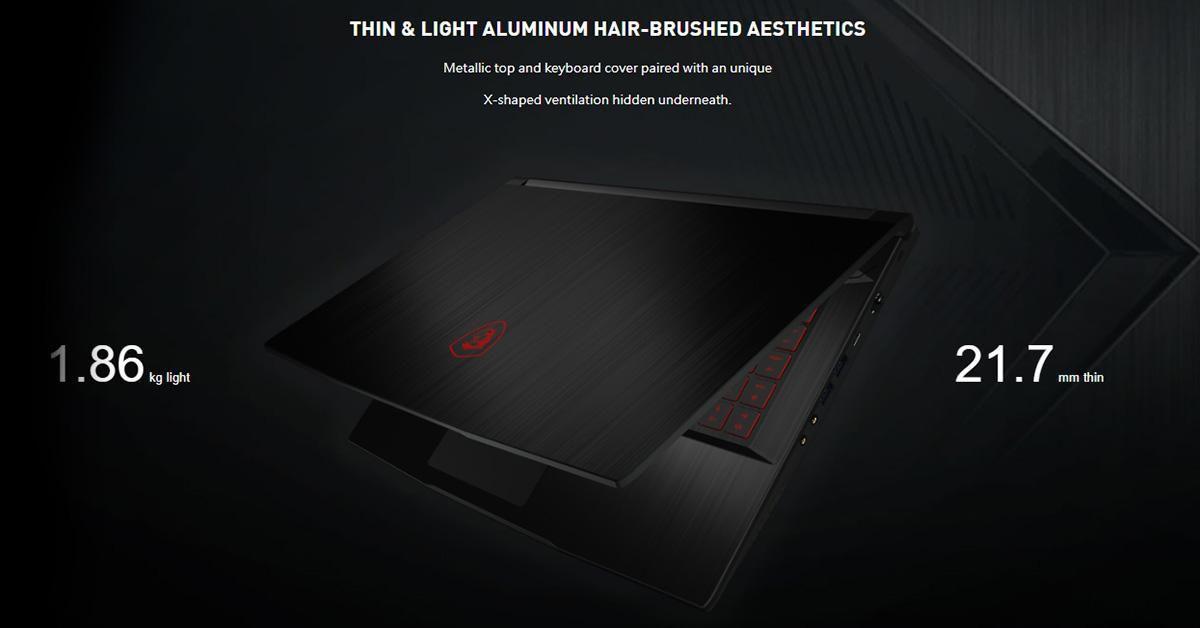 Laptop MSI Gaming GF63-1